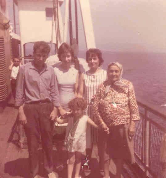 29.07.1966 İzmir istanbul Vapur