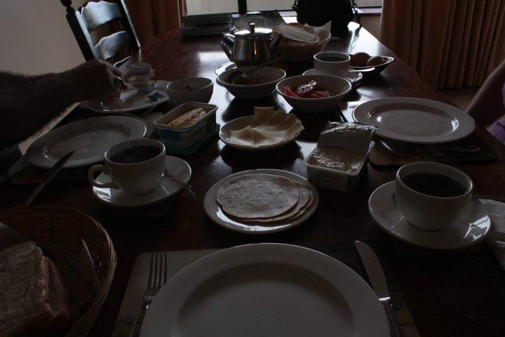 İlk kahvaltımız