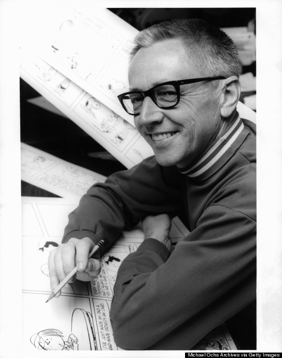 Charles Schulz In 'Charlie Brown And Charles Schulz'